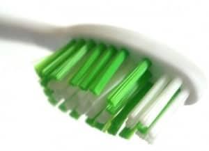 Toothbrush scrubbing