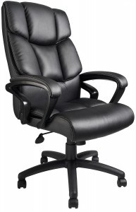 1st Pick Leather Office Chair