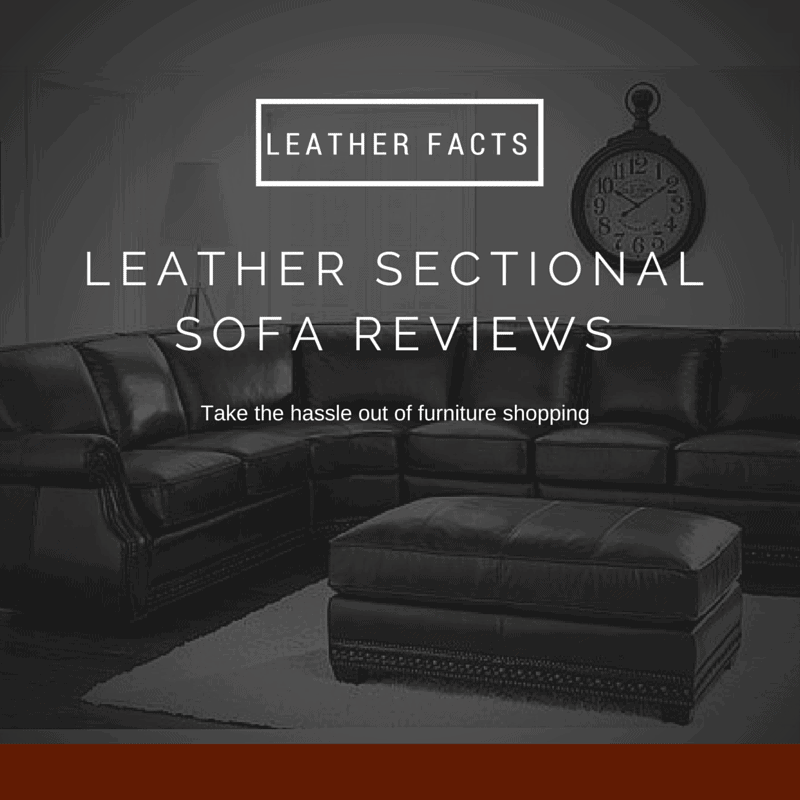 leather sectional sofa reviews leather facts. Black Bedroom Furniture Sets. Home Design Ideas
