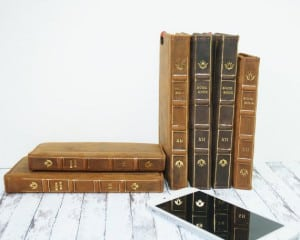Cell Phone Cases that Look Like Books-Mappy Art