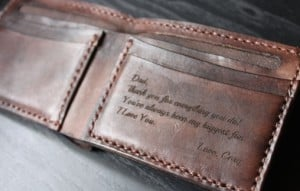 Best Personalized Christmas Gifts- Leather wallet