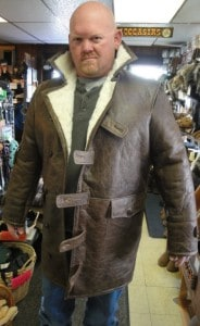 Dark Knight Bane Coat Leather