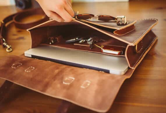 Leather Messenger Bag Briefcase- best leather Christmas Gifts 2015