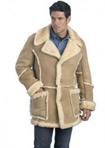 Mens Leather Winter Coats