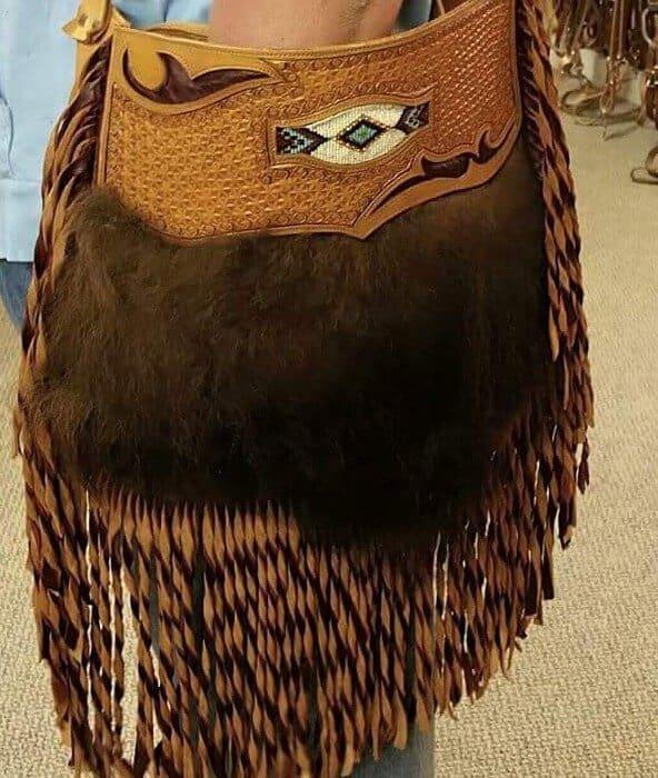 Buffalo Hair Custom Made Leather Purses