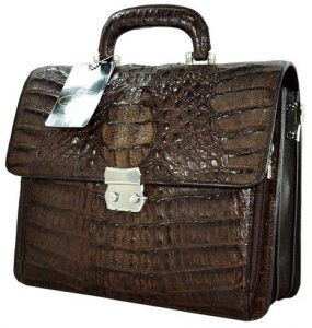 Crocodile Leather Bag - Christmas Gifts 2016