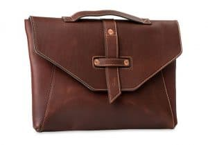 Pad And Quill Chestnut Leather Laptop Bags