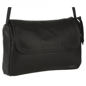 Black leahter handbags