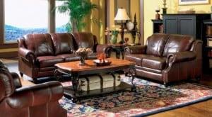 Leather Furniture Set