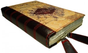 Cell Phone Cases That Look Like Books-Mauraders Map