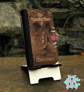 Cell Phone Cases That Look Like Books - Monster Book of Monsters