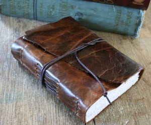 Old Looking Leather Journals- La Papiere