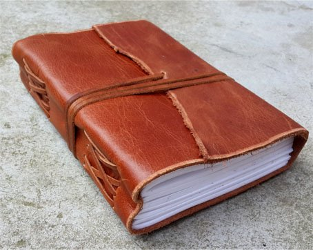 Old Looking Leather Journals- Water Buffalo