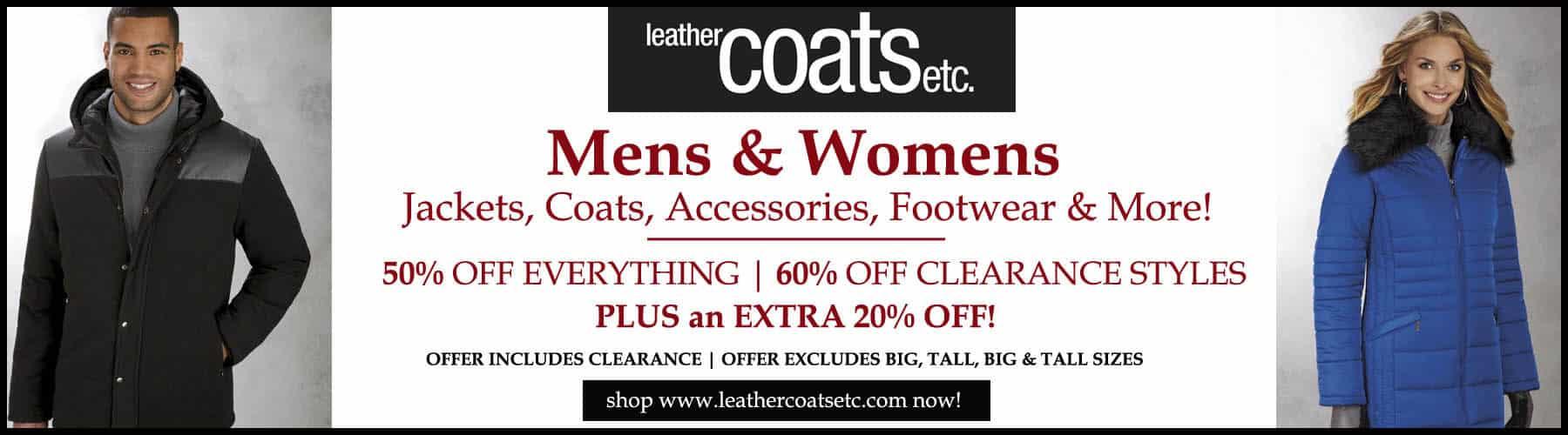 Black Friday Leather Coats Deals