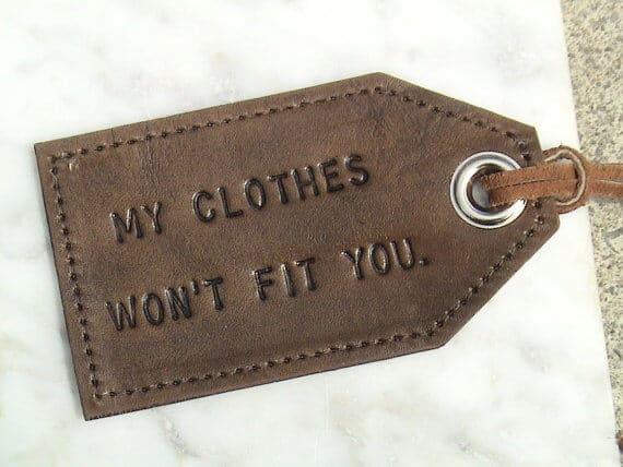 Humorous Luggage Tags - Top Christmas Gift Ideas