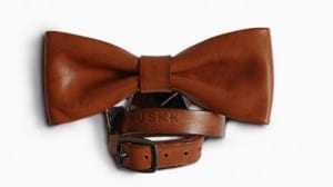 Huskk Leather Bowtie - Creative Christmas Gift Ideas