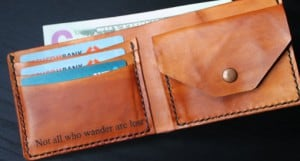 Top Christmas Gifts For 2015- Personalized Leather Wallet