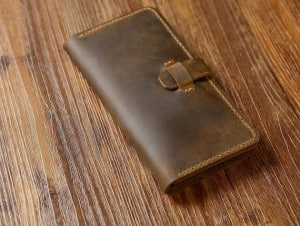 Vintage Leather Cell Phone Case- Christmas gift Ideas