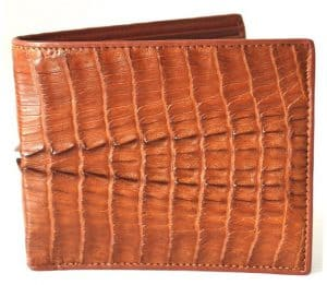Crocodile Leather Wallet - Cool Christmas Gift Ideas for 2016