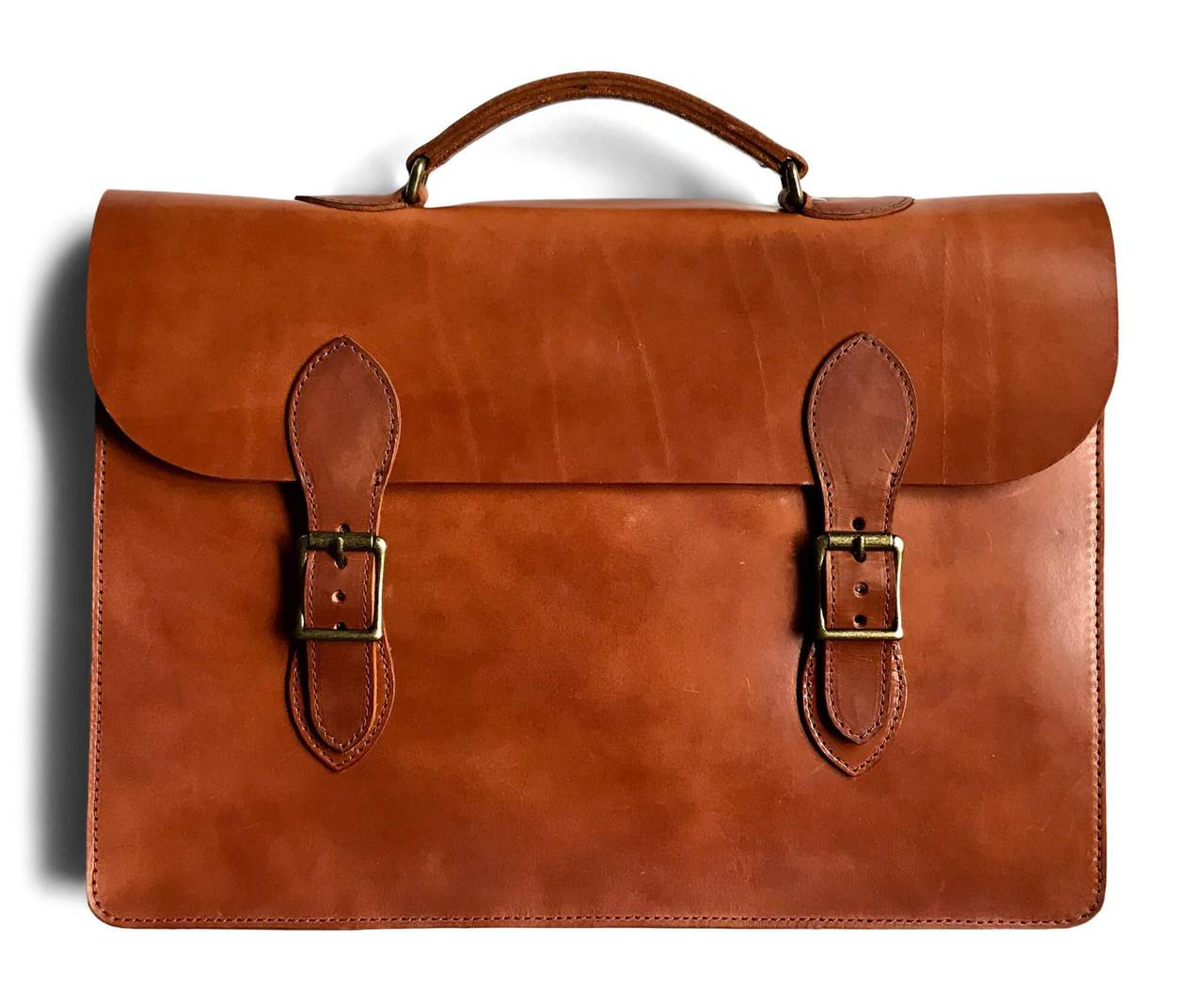 Jackson Wayne Leather Laptop Bag