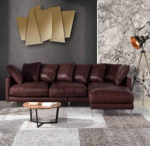 Casa Andrea Leather Sectional