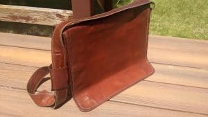 RK Leather Laptop Bag Review