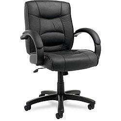 Alera Strada Leather Office Chair