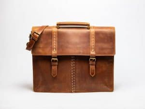 Hides Handcrafted Leather Briefcase